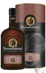 """Bunnahabhain """" Moine """" single malt Islay Scotch whisky 46.3% vol.  0.70 l"""