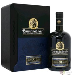 "Bunnahabhain 1988 "" Marsala cask Finish "" aged 30 years Islay whisky 47.4% vol.  0.70 l"