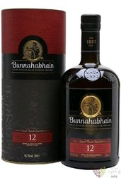 Bunnahabhain 12 years old single malt Islay Scotch whisky 46.3% vol.    0.70 l