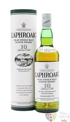 Laphroaig 10 years old single malt Islay whisky 40% vol.  1.00 l