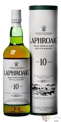 Laphroaig 10 years old single malt Islay whisky 40% vol.  0.70 l