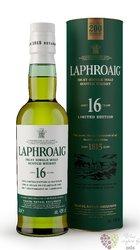 "Laphroaig "" 200 anniversary edition "" aged 16 years ltd single malt Islay whisky 43% vol.   0.35 l"