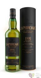 Laphroaig 1991 aged 23 years single malt Islay whisky 52.6% vol.    0.70 l