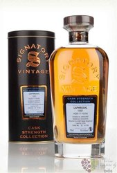 "Laphroaig 1997 "" Signatory vintage cask strength "" aged 17 yeas Islay whisky 55.6% vol.   0.70 l"