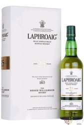 """Laphroaig 2020 """" the Bessie Williamson Story Book """" aged 25 years Islay whisky 43% vol.  0.70 l"""