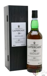 Laphroaig 30 years old single malt Islay whisky 53.5% vol.  0.70 l