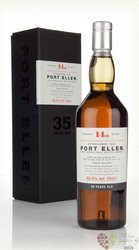 "Port Ellen 1978 "" the 14th release "" aged 35 years Islay whisky 56.5% vol.  0.70 l"