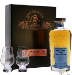 "Port Ellen 1982 "" Signatory 30th anniversary "" aged 35 years Islay whisky 55.1%vol.  0.70 l"