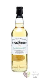 Cameronbridge 1995 single grain Scotch whisky by Signatory 43% vol.   0.70 l