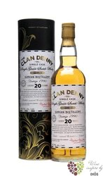 "Girvan 1990 "" Clan Denny "" aged 20 years single grain Scotch whisky 59.7% vol. 0.70 l"