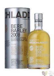 """Bruichladdich 2008 """" Bere Barley """" single malt Islay whisky 50% vol.    0.70 l"""
