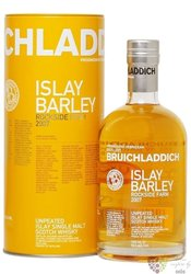 "Bruichladdich 2007 "" Islay barley  Rockside farm "" single malt Islay whisky 50%vol.  0.70 l"