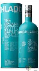 """Bruichladdich """" Organic Scottish barley """" single malt Islay whisky 50% vol.  1.00 l"""
