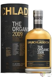 "Bruichladdich 2009 "" Organic Unpeated "" single malt Islay whisky 50% vol.  0.70l"