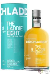 "Bruichladdich "" Laddie eight "" aged 8 years single malt Islay whisky 46% vol.  0.70 l"