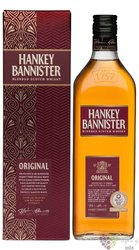 "Hankey Bannister ""  Original "" gift box blended Scotch whisky 40% vol.   0.70 l"