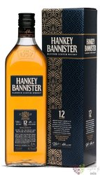 "Hankey Bannister "" Regency "" aged 12 years premium blended Scotch whisky 40% vol.  1.00 l"