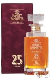 Hankey Bannister 25 years old Scotch whisky 40% vol.   0.70 l