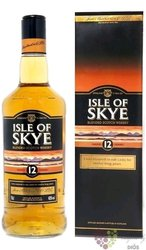 Isle of Skye 12 years old Blended Scotch whisky Ian Macleod & Co 40% Vol.    0.70 l
