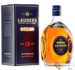 Lauder´s 12 years old premium Scotch whisky by MacDuffs 40% vol.  1.00 l