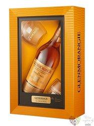 "Glenmorangie "" Original "" aged 10 years 2glass pack Scotch whisky 40% vol.    0.70 l"