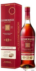 "Glenmorangie Exclusive Core "" the Accord "" aged 12 years Highland whisky 43% vol.  1.00 l"