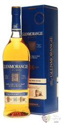 "Glenmorangie Exclusive Core "" the Tribute "" aged 16 years Highland whisky 43% vol.  1.00 l"