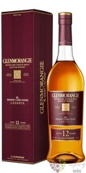 "Glenmorangie "" Lasanta "" sherry cask aged 12 years Highland whisky 46% vol.  0.70 l"