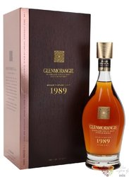 "Glenmorangie 1989 "" Grand vintage malt "" Highland whisky 43% vol.  0.70 l"