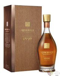 "Glenmorangie 1990 "" Grand vintage malt "" Highland whisky 43% vol.  0.70 l"