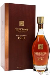 "Glenmorangie 1991 "" Grand vintage malt "" Highland whisky 43% vol.  0.70 l"