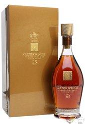 Glenmorangie 25 years old single malt Highland whisky 43% vol.  0.70 l