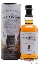 "Balvenie "" Sweet Toast of American Oak "" aged 12 years Speyside whisky 40% vol.0.70 l"