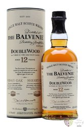 "Balvenie "" Double wood "" aged 12 years Speyside Single malt whisky 40% vol.   0.70 l"