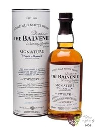 "Balvenie "" Old Signature "" aged 12 years Speyside Single malt whisky 40% vol. 0.70 l"