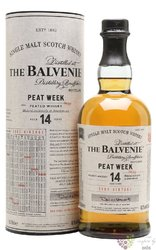 "Balvenie "" Golden cask caribbean rum "" aged 14 years Speyside whisky 47.5% vol.0.70 l"