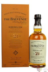 "Balvenie "" Madeira cask "" aged 21 years Speyside single malt whisky 40% vol.  0.70 l"