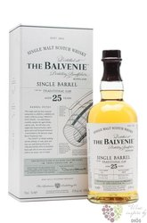"Balvenie 1988 "" Single barrel "" aged 25 years Speyside single malt whisky 47.8%vol.   0.70 l"