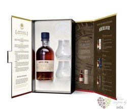 Aberlour 18 years old glass set single Speyside Scotch whisky 43% vol.  0.70 l