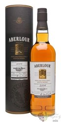 "Aberlour 2004 "" White oak "" single Speyside whisky 40% vol.  0.70 l"