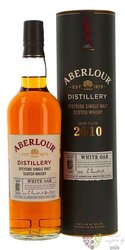"Aberlour "" White oak "" 2010 single malt Speyside whisky 40% vol.  0.70 l"