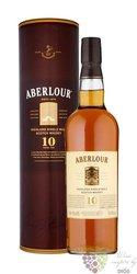 Aberlour 10 years old single malt Speyside whisky 43% vol.    0.70 l