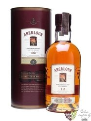 "Aberlour "" Double cask matured "" aged 12 years single Speysides whisky 43% vol.0.70 l"