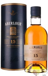 """Aberlour """" Select cask reserve """" aged 15 years single Speyside whisky 43% vol.0.70 l"""