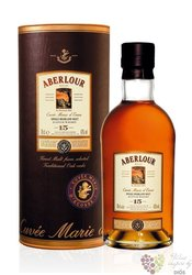 "Aberlour "" cuvée Marie d´Ecosse "" aged 15 years single malt Speyside whisky 43%vol.    0.70 l"