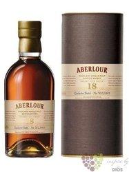 Aberlour 18 years old single malt Speyside Scotch whisky 40% vol.  0.70 l