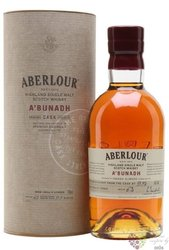 "Aberlour "" A´Bunadh batch 63 "" single malt Speyside whisky 61% vol.  0.70 l"