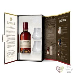 "Aberlour "" A´Bunadh batch 47 "" 2glass set single malt Speyside whisky 60.7% vol.     0.70 l"
