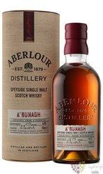 """Aberlour """" A´Bunadh batch 50 """" single malt Speyside whisky 59.6% vol.   0.70 l"""