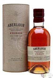 """Aberlour """" A´Bunadh batch 52 """" single malt Speyside whisky 60.5% vol,   0.70 l"""